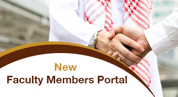 new faculty member portal