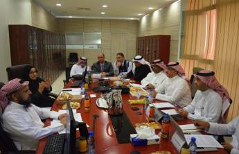PSAU Receives the Verification Team of the NCAAA