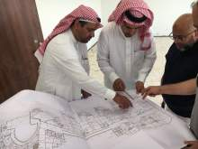Vice-Rector of Branches and Deans are Making the Arrangements to Move to the New University City at Wadi Addawasir
