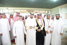 Al- Hamid Inspects Al-Aflaj Colleges and Attends the Signage of Four Agreements