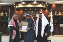 Rector Receives the Annual Report of the Applied Medical Sciences College to the Academic Year 1439-1440H