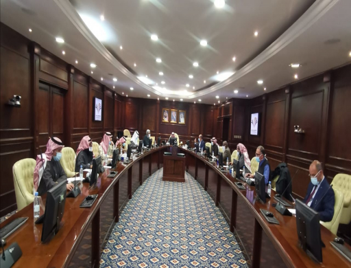 The Scientific Council of PSAU Holds its 6th Session in the Academic Year 1442AH